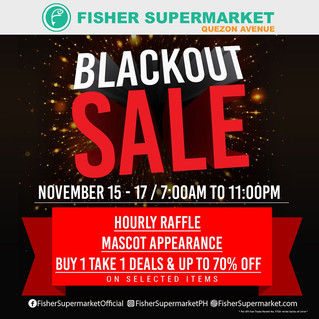 BLACK OUT SALE 2019