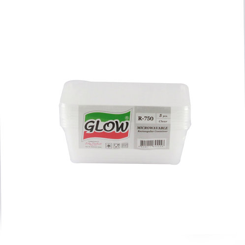 Glow Food Cont R750 Clear 5s