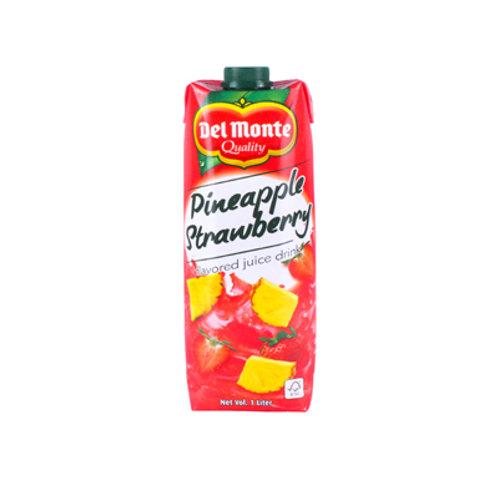 Del Monte Strawberry Juice Tetra 1L