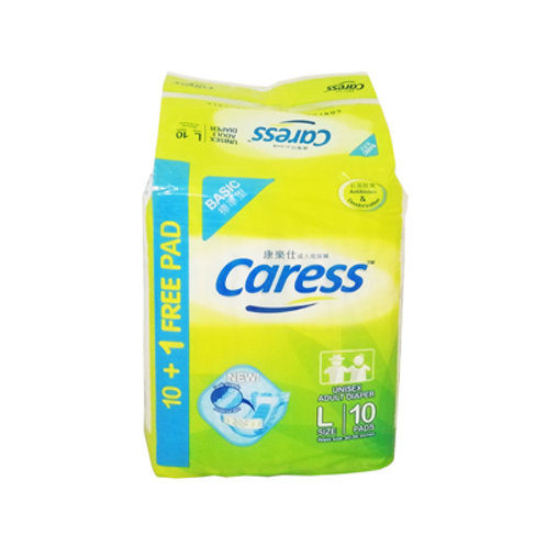 Caress Basic Adult Diaper Large10s