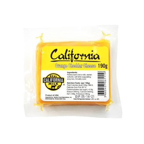 California Orange Cheddar Cheese Portion 190g