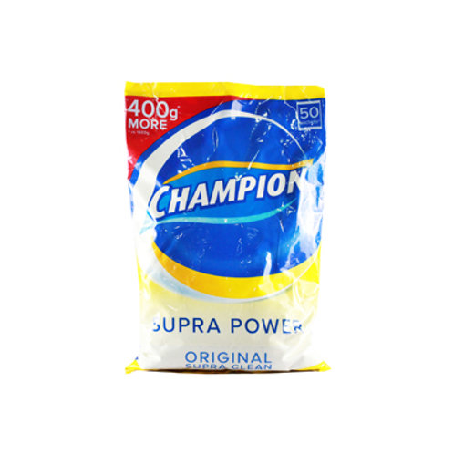 Champion Detergent Powder Regular Supra Clean 2kg