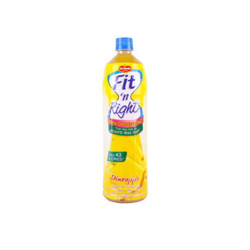 Del Monte Fit N' Right Pineapple 1000ml