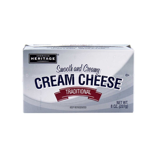 American Heritage Cream Cheese Plain Bar 227g