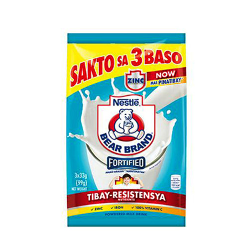 Bear Brand Powder Milk Drink 99g