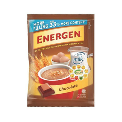 Energen Chocolate Hanger 40g x 10s
