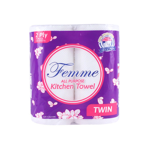 Femme All Purpose Kitchen Towel Twin