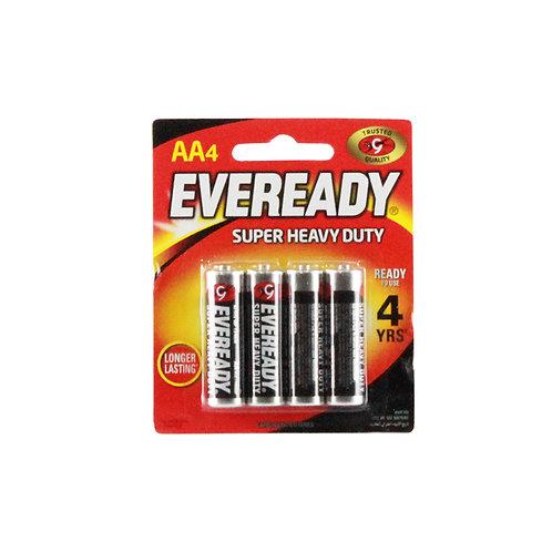 EvereadyBattery SHD AASmallBlack BP4s