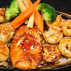 Mix Seafood Teriyaki