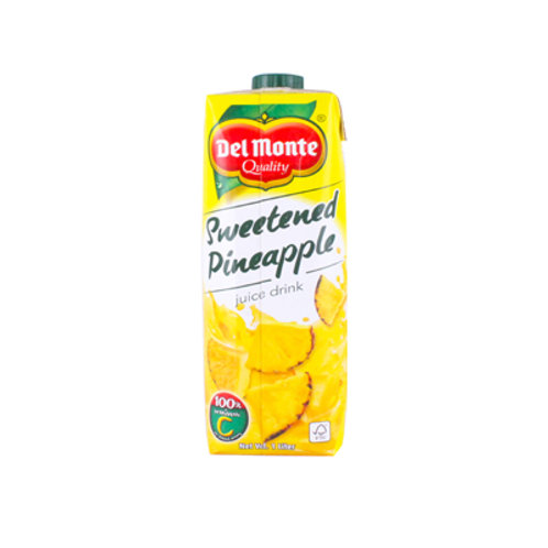 Del Monte Sweetened Pineapple Juice Tetra 1L