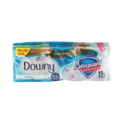 Downy Fabcon Antibac Tripid 69ml 6s