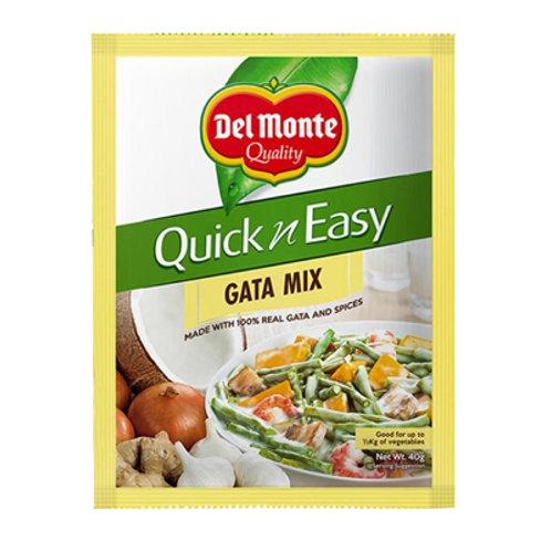 Del Monte Quick n Easy Gata Mix 40g