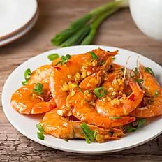 Garlic Shrimp w/ Chili Sauce