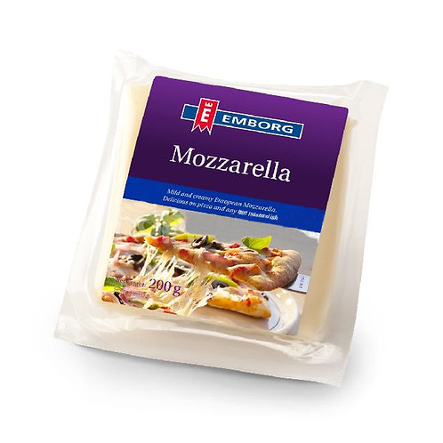 Emborg Mozzarella Block 200g