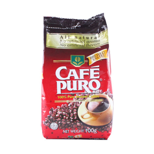 Caf? Puro in Econo pack Pouch 100g