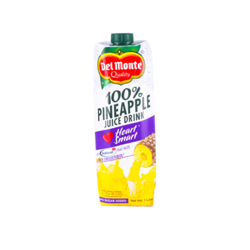 Del Monte 100% Pineapple Juice Heart Smart 1L