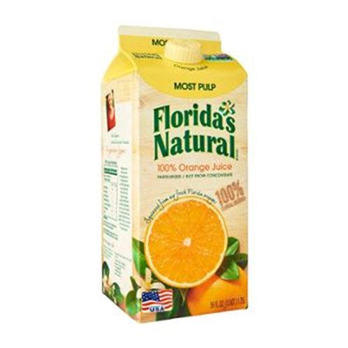 Florida's Orange Juice Most Pulp 1.5L
