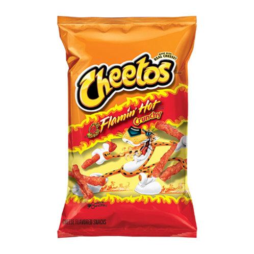 Cheetos Crunchy Flamin Hot 8oz