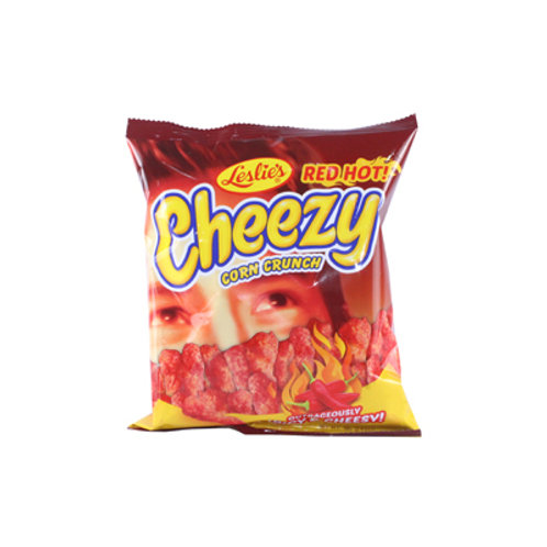 Cheezy Outrageously Spicy and Cheesy Corn Crunch 22g