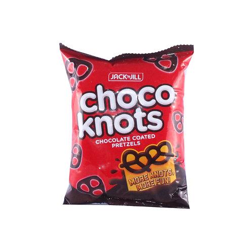 Jack n Jill Pretzels Choco Knots 50g