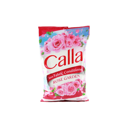 Calla Detergent Powder with Fabcon Rose Garden 800g