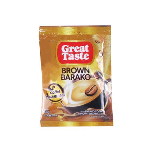 Great Taste Brown Barako 30g