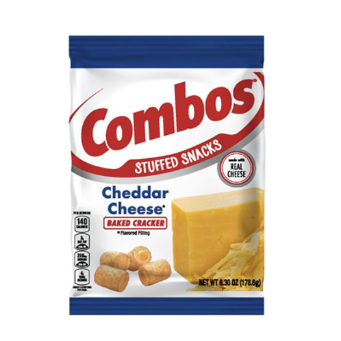 Combos Cheddar Cheese Family Pack 6.3oz