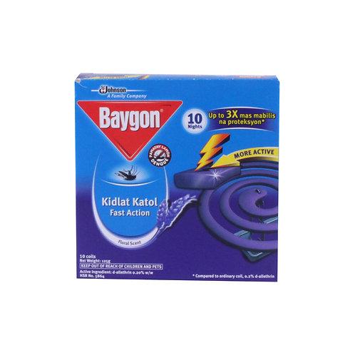 Baygon Kidlat Katol (Scented Coil) 10s