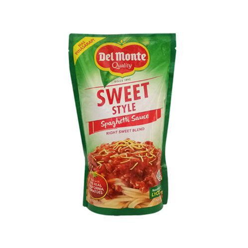 Del Monte Spaghetti Sauce Sweet Style SUP 1kg