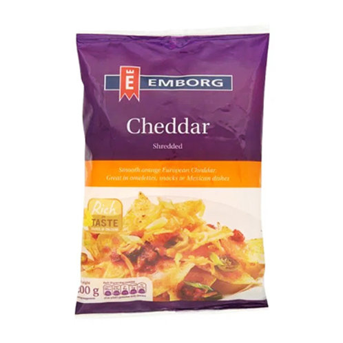 Emborg Cheddar Cheese Shredded 200g