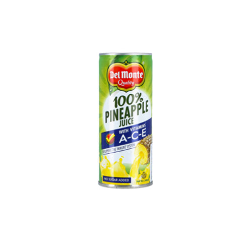 Del Monte 100% Pine Juice with Ace 2T 530ml