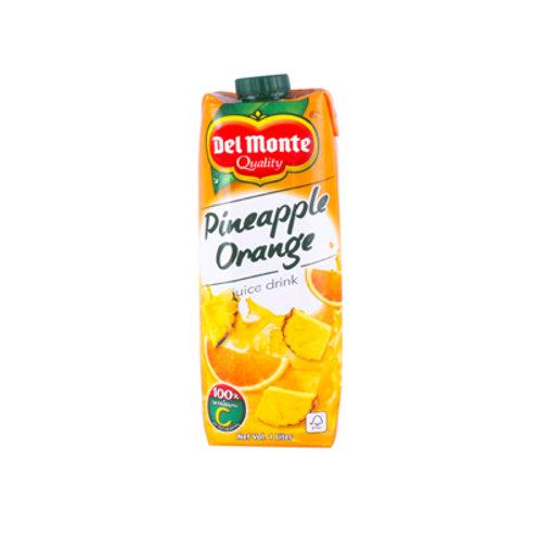 Del Monte Pineapple Orange Juice Tetra 1L