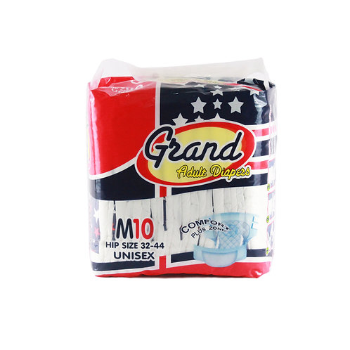 GrandAdult Diaper Medium 10s
