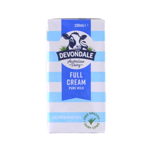 Devondale Full Cream UHT Milk 200ml