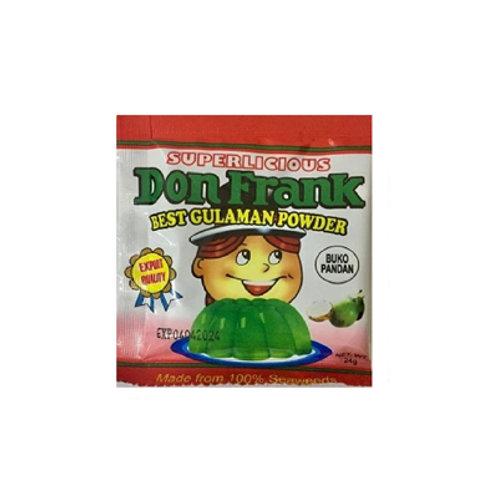 Don Frank Flavored Buko Pandan 24g