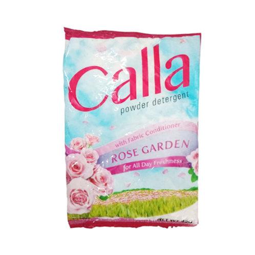 Calla Detergent Powder with Fabcon Rose Garden 45g 6s