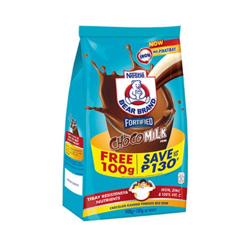 Bear Brand Choco Milk Drink Bonus Pack 900g