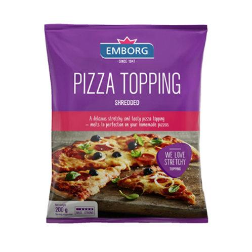 Emborg Pizza Topping Shredded 200g