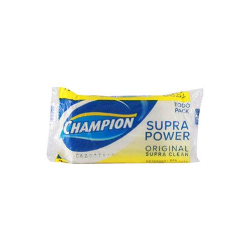 Champion Detergent Bar Todo Pack Regular Supra Clean 145g