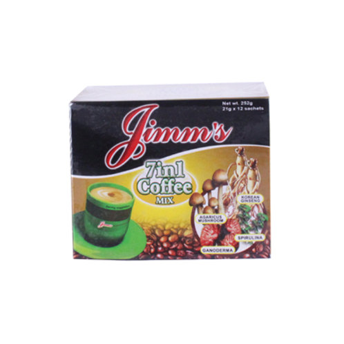 Jimms 7in1 Coffee Mix 21g x 12s