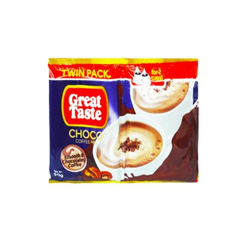 Great Taste White Smooth & Chocolatey Twin Pack 50g