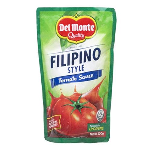 Del Monte Tomato Sauce Filipino Style SUP 200g