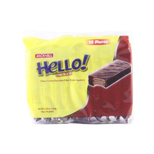 Hello Coated Chocolate 15g x 10's