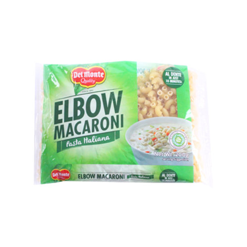 Del Monte Elbow Macaroni 200g