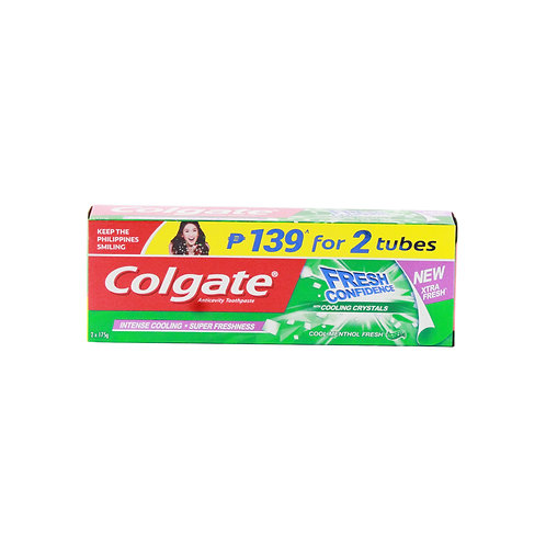 Colgate ToothPaste CoolMint Fresh 175g 2 for P139