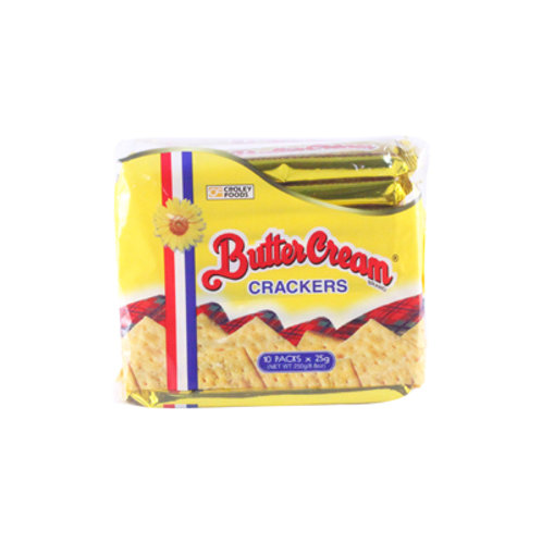 Butter Cream Crackers 25g x 10's