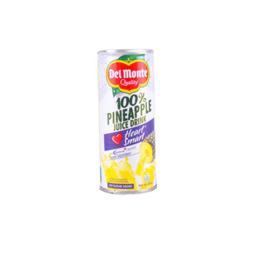 Del Monte 100% Pineapple Juice Heart Smart 240ml
