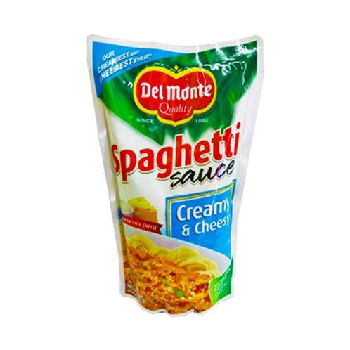 Del Monte Spaghetti Sauce Creamy & Cheesy SUP 900g