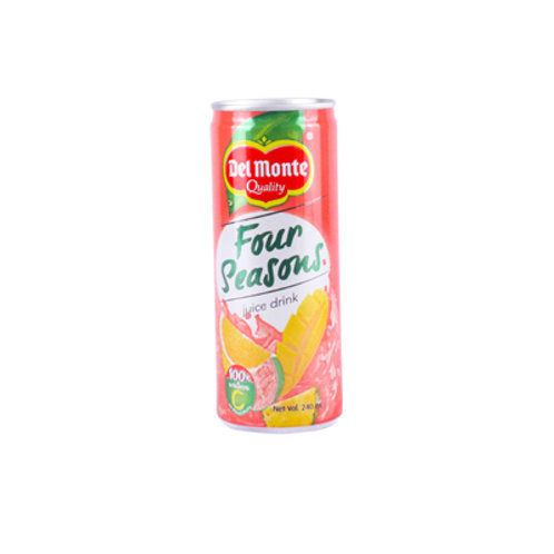 Del Monte Four Seasons Juice Drink 202 240ml