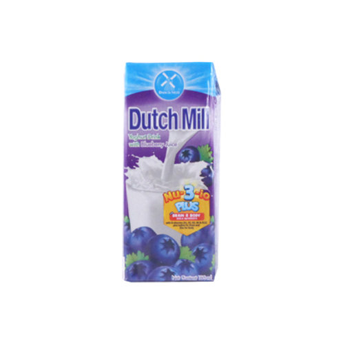 Dutchmill Youghurt Blueberry 180ml